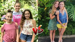 Haschak Sisters Vs Brooklyn and Bailey (sisters vs sisters)  Musically Compilation