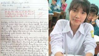 Bài văn 10 điểm của nữ sinh Nam Định gây s/ố/t c/ộn/g đ/ồ/ng mạng - TIN TỨC 24H TV