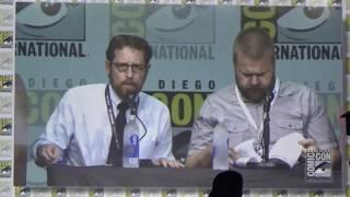 Walking Dead 2017 Panel clip: Scott M. Gimple talks about stunt man John Bernecker (RIP)