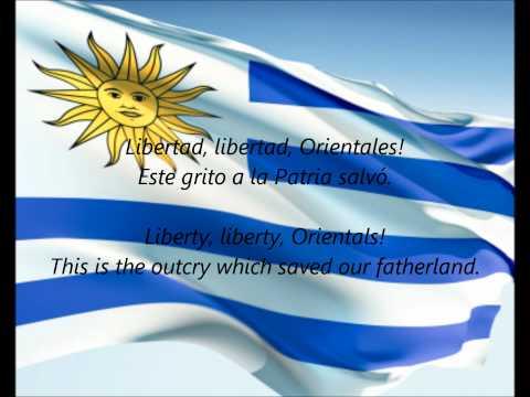 Uruguayan National Anthem - ''Orientales, La Patria O La Tumba!''