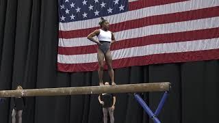Simone Biles - Podium Training Balance Beam  - 2019 U.S. Gymnastics Championships