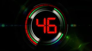 Countdown Timer 60 seconds ( v 263 ) circle clock with sound effects 4k