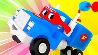Siêu xe tải mini - Siêu xe tải Carl 🚚⍟ những bộ phim hoạt hình về xe tải l Super Truck
