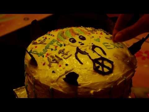 EXO Sehun Inspired Rainbow Cake![JJANG Cooking Contest]