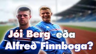 Alfreð Finnbogason vs. Jóhann Berg Guðmundsson / Landsliðið: fotbolti.net