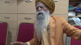 107 years old -Mr Fauja Singh talking about partition 1947 and more - part 3