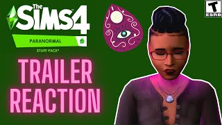PARANORMAL STUFF PACK REACTION: BETTER THAN EXPECTED? SIMS 4 NEWS 2021