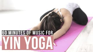 Music for yin yoga practice. 60 minutes. Soft music for yin yoga