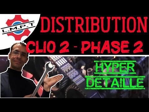 changement distribution clio2 phase2 en d tails youtube. Black Bedroom Furniture Sets. Home Design Ideas