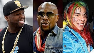 Floyd Mayweather Exposes 50 Cent's Life On Instagram, 50 Cent Responds + 6IX9INE Gets Involved
