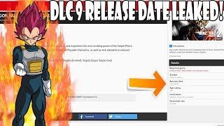 Dragon Ball Xenoverse 2 DLC 9 RELEASE DATE LEAKED!?