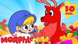 Oh No! Morphle's Christmas Gift! My Magic Pet Morphle   Cartoons For Kids   Morphle TV   BRAND NEW