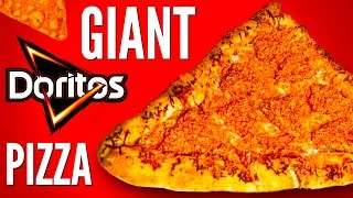 GIANT DORITOS STUFFED PIZZA DIY | How To