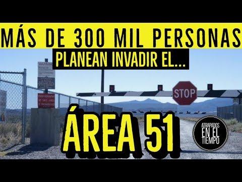 MÁS DE 300 MIL PERSONAS INVADIRAN EL AREA 51