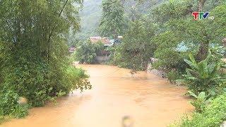 Thanh Hóa: Gần 4.000 ha lúa bị ngập, nguy cơ sạt lở đất tại Bá Thước