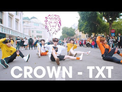 [KPOP IN PUBLIC] TXT (투모로우바이투게더) '어느날 머리에서 뿔이 자랐다 (CROWN)' |커버댄스 Dance Cover| By B-Wild From Vietnam