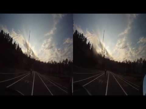 Hojåkning på Järfälla Gocartbana 2011-06-12 filmat med GoPro HD Hero 3D