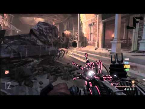 Black Ops 2 Zombies Buried How To Fly Using Paralyzer Wonder Weapon - BO2 Flying Glitch TUTORIAL - Smashpipe Games
