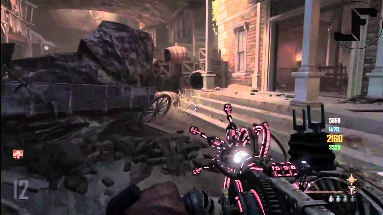 Black Ops 2 Zombies Buried How To Fly Using Paralyzer Wonder Weapon - BO2 Flying Glitch TUTORIAL - Smashpipe Games Video