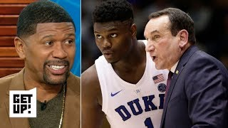 Jalen Rose is confident Zion, Duke will bounce back after losing to Syracuse   Get Up!