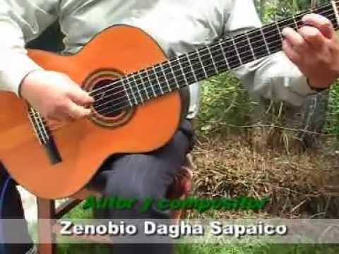 VASO DE CRISTAL - SOLO DE GUITARRA - GUITARRA HUANCA