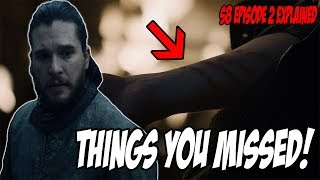 Things You MISSED! Game Of Thrones Season 8 Episode 2 (Explained)