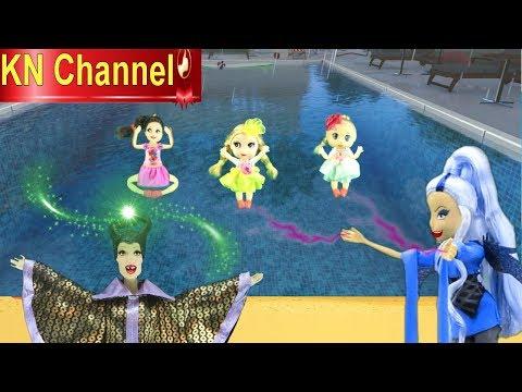 Đồ chơi trẻ em PHÙ THỦY HẮC ÁM ÂM MƯU HÃM HẠI BÚP BÊ KN Channel VÀ BÀI HỌC CHO KẺ ĐỘC ÁC