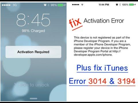 Apple error download itunes