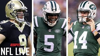 Impact on Drew Brees, Sam Darnold after Teddy Bridgewater trade | NFL Live | ESPN