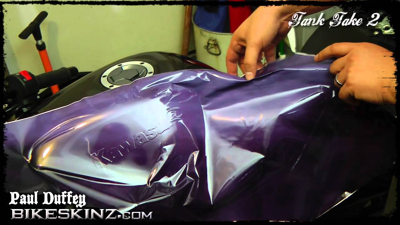 Tank Take 2 Bikeskinz Tank Wrap Installation Updated