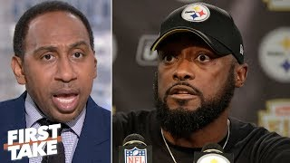 Stephen A.'s wish is for Mike Tomlin to get control of the Redskins | First Take