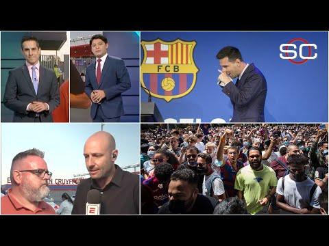 TODOS LLORAN A LIONEL MESSI Así reaccionaron los aficionados tras la rueda de prensa | SportsCenter