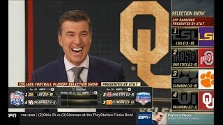 [FULL] College Football Playoff Selection Show: Reaction, Interview, Games preview