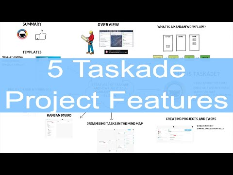 5 features of Taskade and how I use it as a Kanban project workflow. Taskade Review.