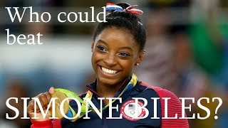 Who could beat Simone Biles?