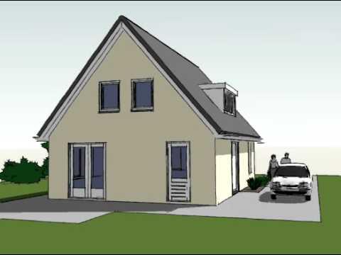 Voorbeeldplan nieuwbouw woningontwerp SBO SPR770 3D
