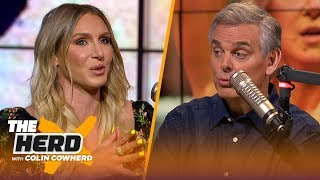 Charlotte Flair on growing WWE women's division, grueling schedule | WWE | THE HERD