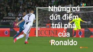 Những cú dứt điểm trái phá của Cristiano Ronaldo