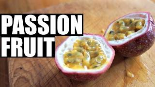 PASSION FRUIT Taste Test | Fruity Fruits