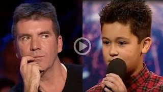 Simon Cowell Humiliates a 12 Year Old Boy