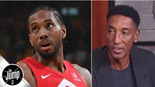Scottie Pippen: Even if Kawhi comes back, 'I don't see' Raptors winning 2020 title | The Jump