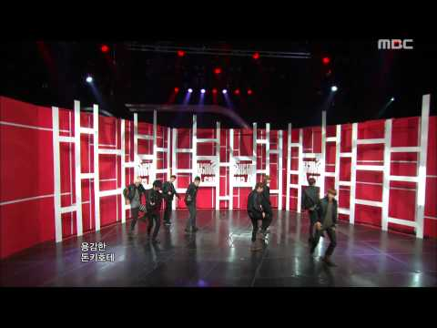 Super Junior - A-CHA, 슈퍼주니어 - 아차, Music Core 20111008