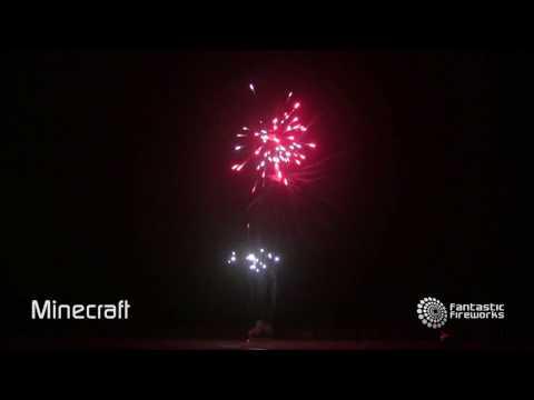Fantastic Fireworks Minecraft - 49 shot firework