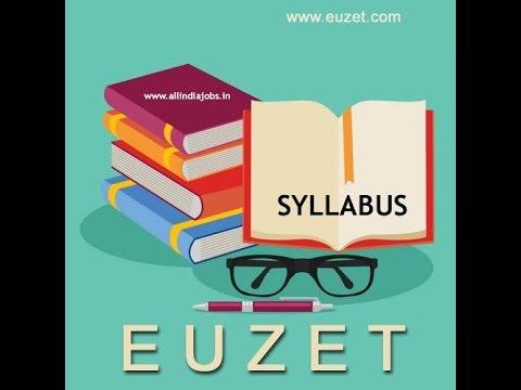 SYLLABUS - Didier EUZET (1692)