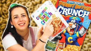 Irish People Try American Breakfast Cereals
