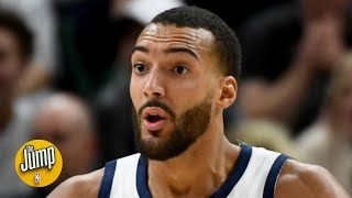 Rudy Gobert calls out his teammates and the Jazz's offense   BS or Real Talk   The Jump