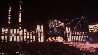 WRESTLEMANIA 33 Seth Rollins Entrance LIVE