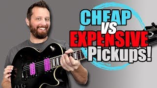 CHEAP vs EXPENSIVE Humbucker Edition! - Can You Hear The Difference?