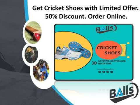 Buy Latest Cricket Shoes Online - TheBalls
