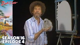 Bob Ross - Mountain Mirage Wood Shape (Season 16 Episode 4)